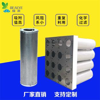 筒状化学过滤器(活性炭空气滤筒