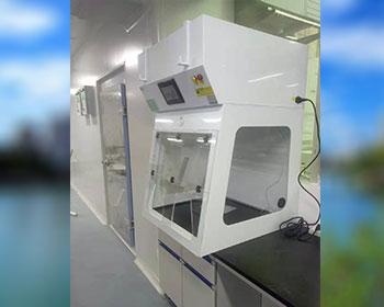 乐昌市第二人民医院桌面式净气型通风柜应用案例