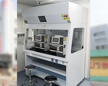 江门第二人民医院PCR实验室净气型通风柜应用